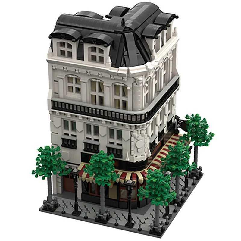☆最安値☆ レゴ 互換 パリのビル パン屋 スタジオ マンション 建物 ヨーロッパ 4204ピース_画像2