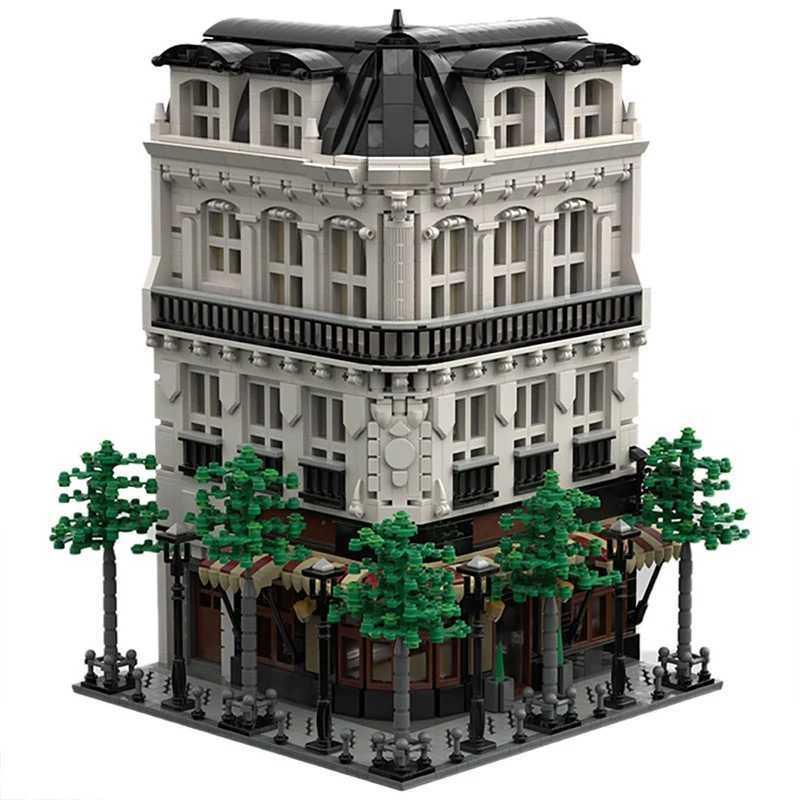 ☆最安値☆ レゴ 互換 パリのビル パン屋 スタジオ マンション 建物 ヨーロッパ 4204ピース_画像1