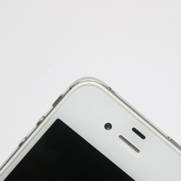 ●安心保証 即日発送●美品●au iPhone4S 32GB ホワイト●白ロム 中古本体_画像3