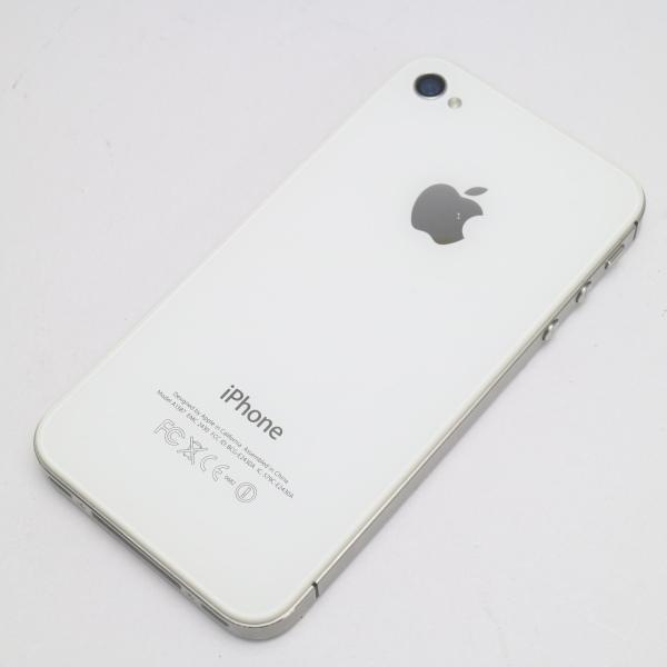 ●安心保証 即日発送●美品●au iPhone4S 32GB ホワイト●白ロム 中古本体_画像2