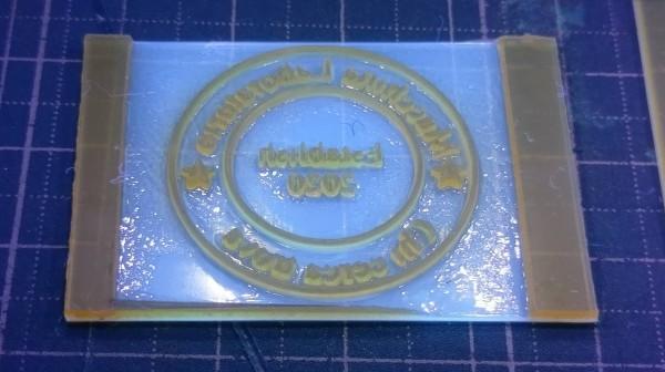 送料無料 βレタープレス製作4点キットBeta 紫外線硬化樹脂版 レザークラフトの刻印に!詳しい解説書付き_細かなデザインもPCから制作できます。