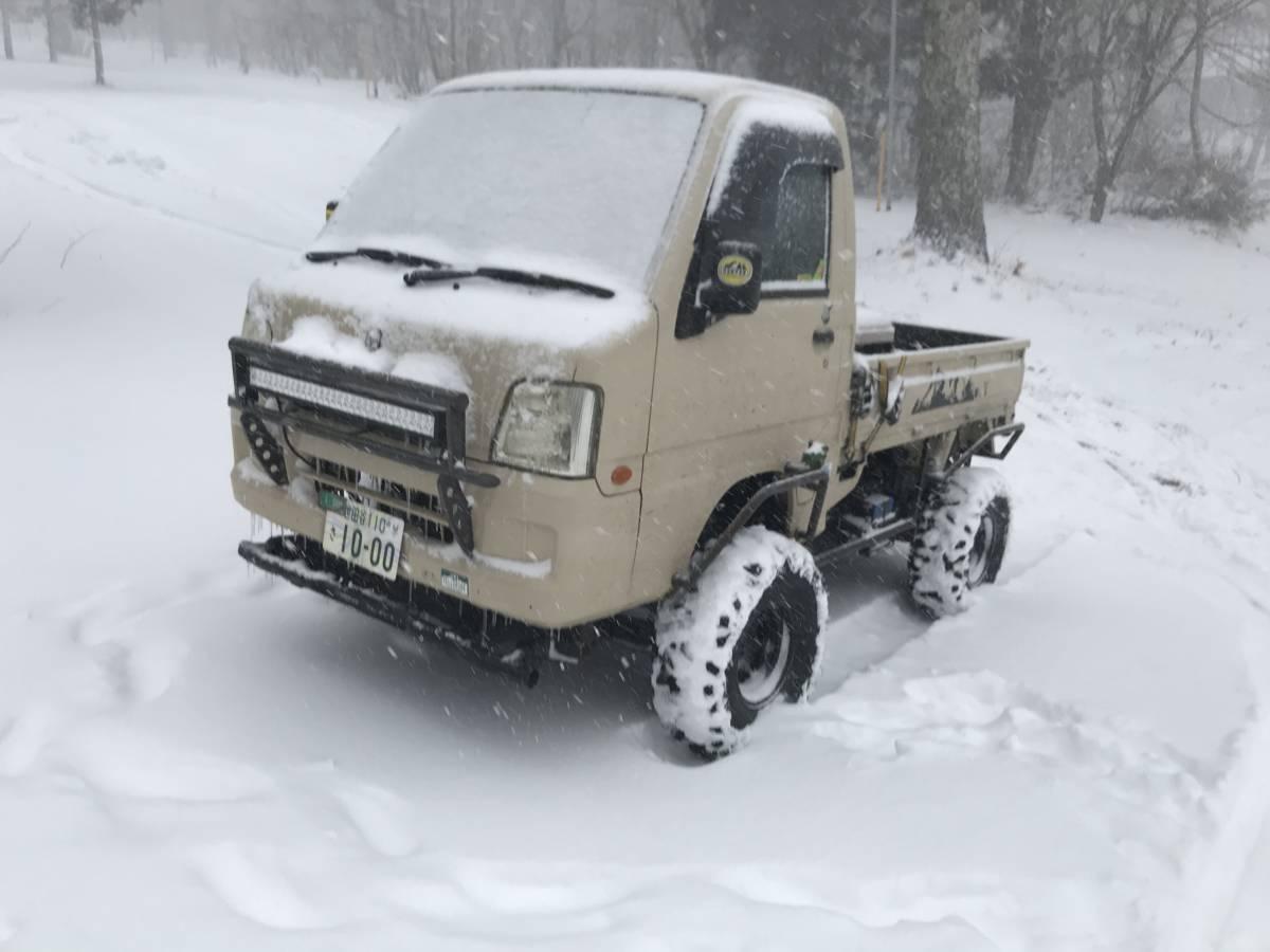 「サンバー トラック 5MT 4WD バギー グリズリー ATV 公道走行可」の画像3