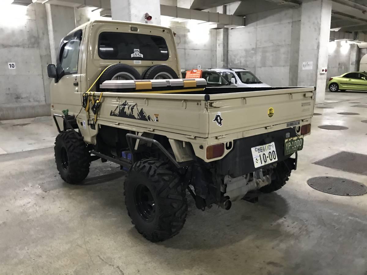 「サンバー トラック 5MT 4WD バギー グリズリー ATV 公道走行可」の画像2