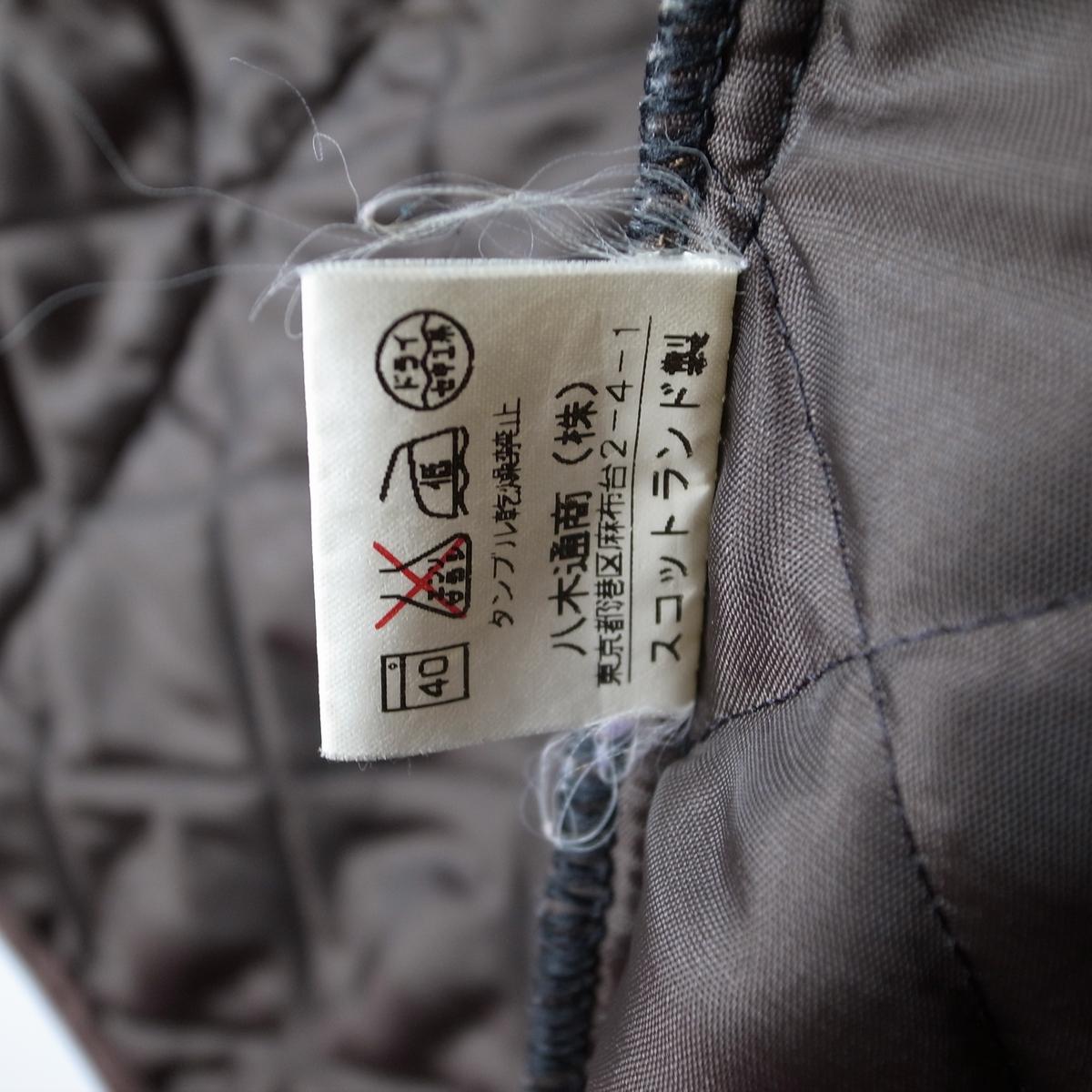MACKINTOSH マッキントッシュ キルティングジャケット 34 コート スコットランド製_画像8