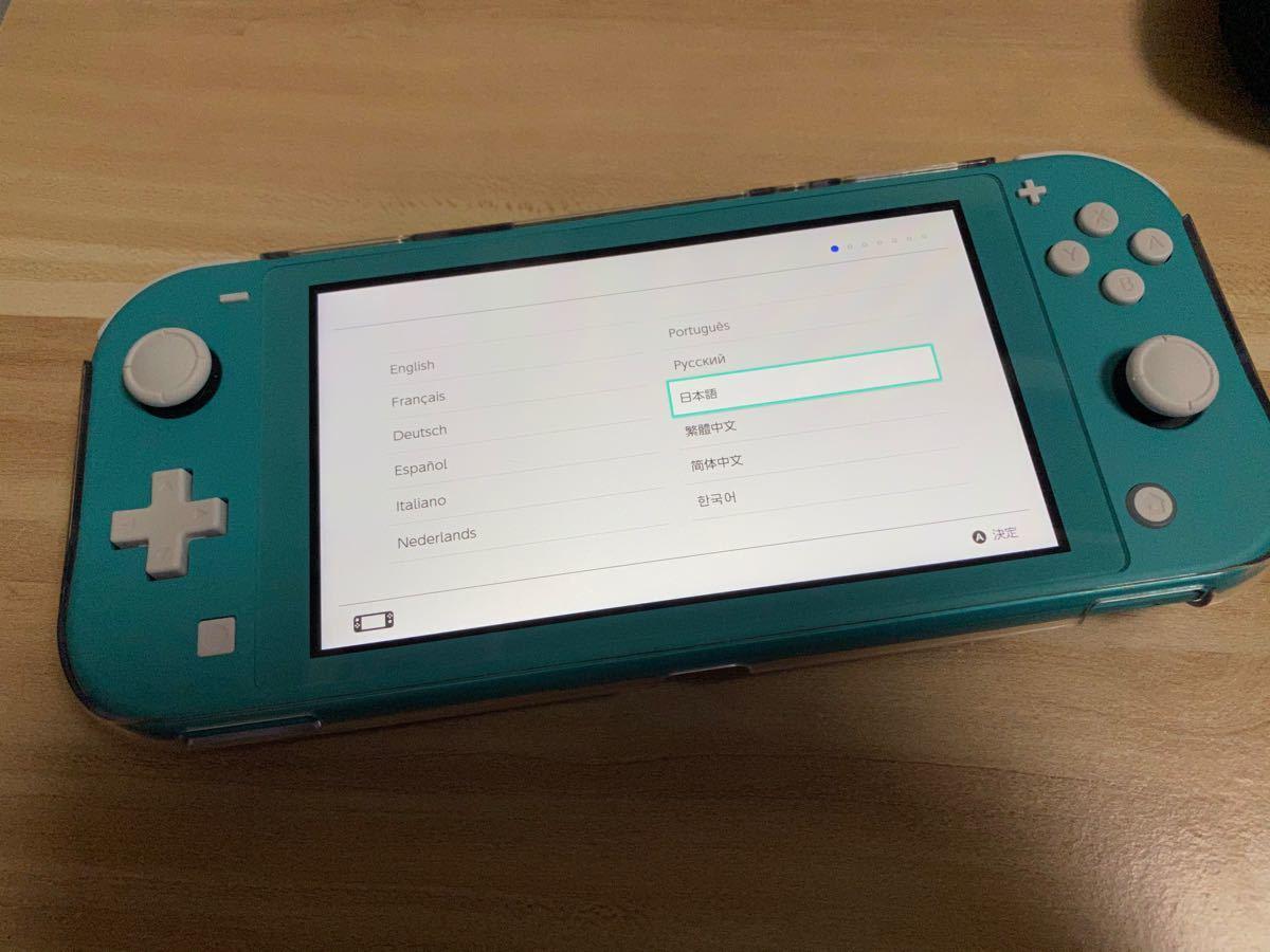 任天堂Switch Lite ターコイズ+付属品セット