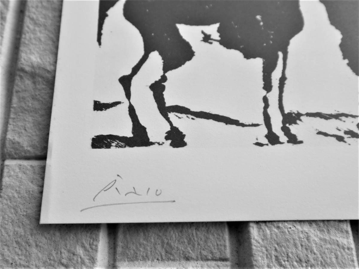 ピカソ Picasso ★真作保証★大変希少★エッジング画集★鉛筆にてサインあり☆F_画像3