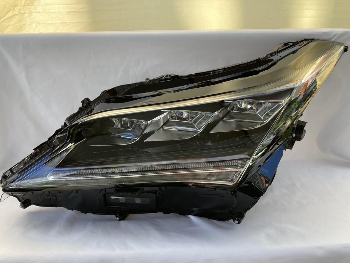 CHL-8【送料無料】レクサス RX 前期 3眼フルLED 左ヘッドライト KOITO 48-167 刻印 X5 ジャンク_画像1