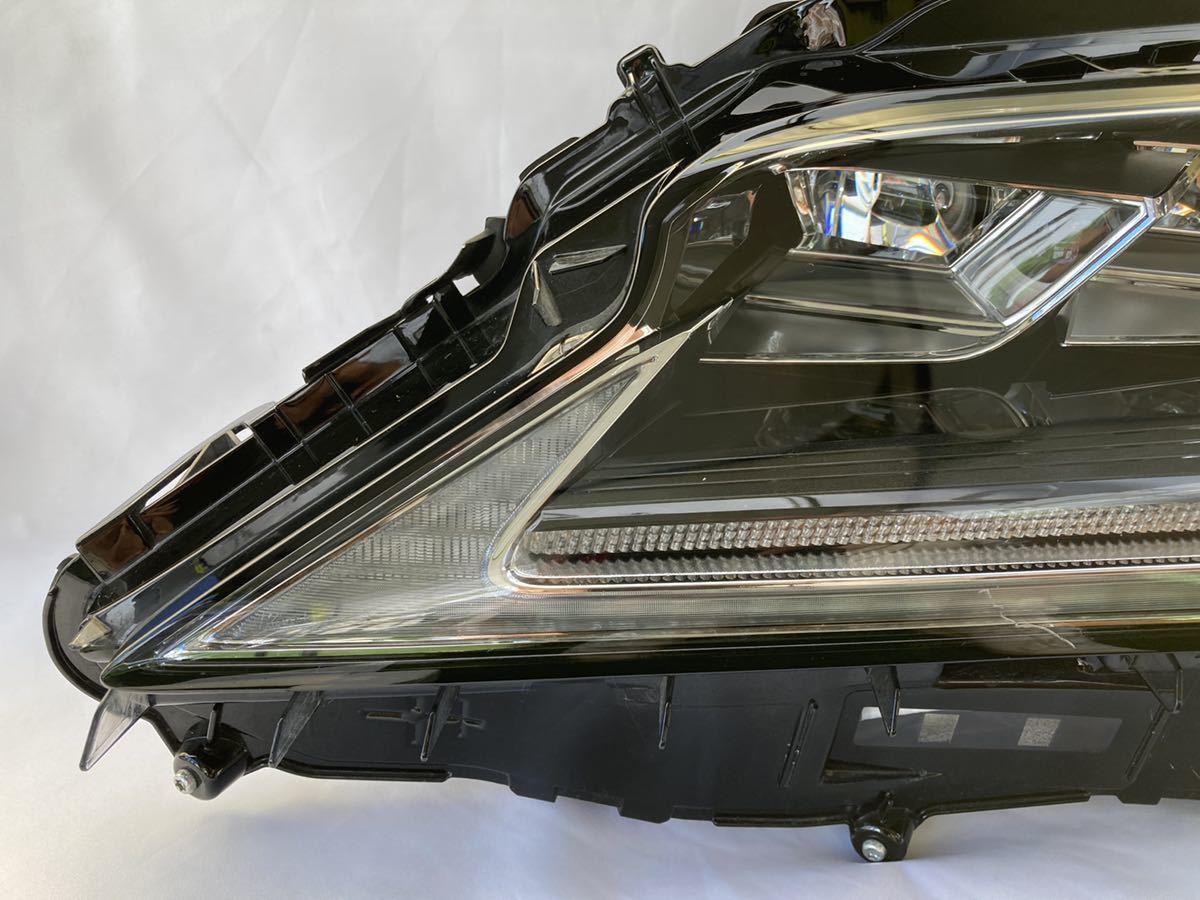 CHL-8【送料無料】レクサス RX 前期 3眼フルLED 左ヘッドライト KOITO 48-167 刻印 X5 ジャンク_画像2
