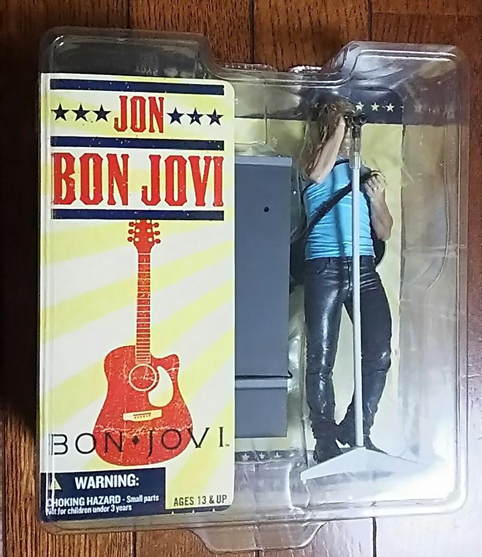送料無料 レア絶版 完売品 新品未開封 美品 BONJOVI フィギュア ジョン・ボン・ジョヴィ リッチー・サンボラ Jon Bon Jovi Richie Sambora_画像2
