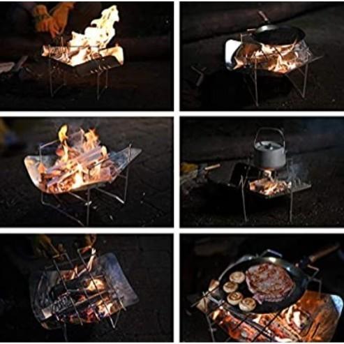 折り畳み式 軽量 焚き火台