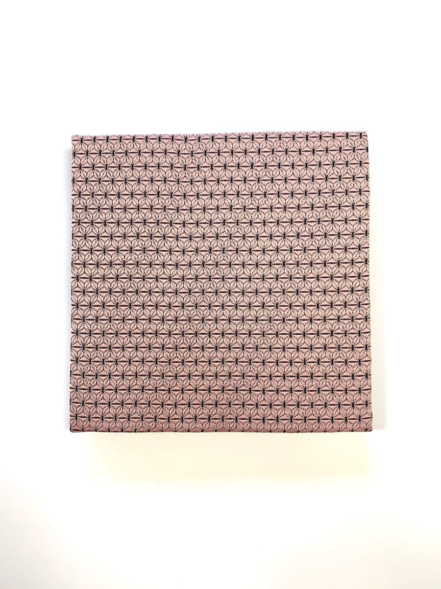 1枚販売 フィギュア台 ディスプレイ台 ディスプレイスタンド 台座 ピンク麻の葉柄 市松柄 着物柄 和柄 ハンドメイド 織物生地