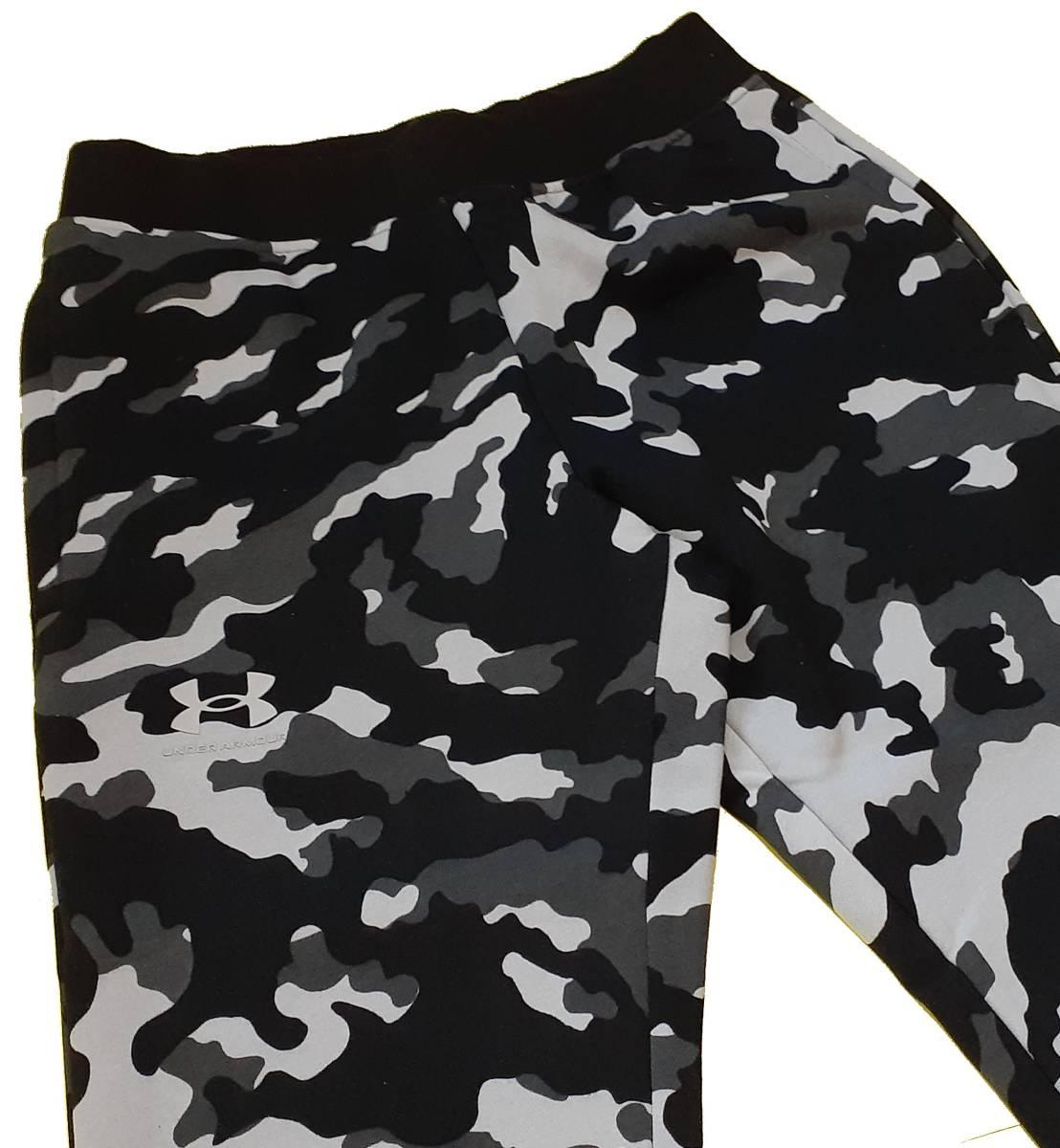 UA アンダーアーマー カモ ライバルフリース パーカー フーディー ジャケット+ ジョガー パンツ 上下セット/メンズ/新品/XL_画像5