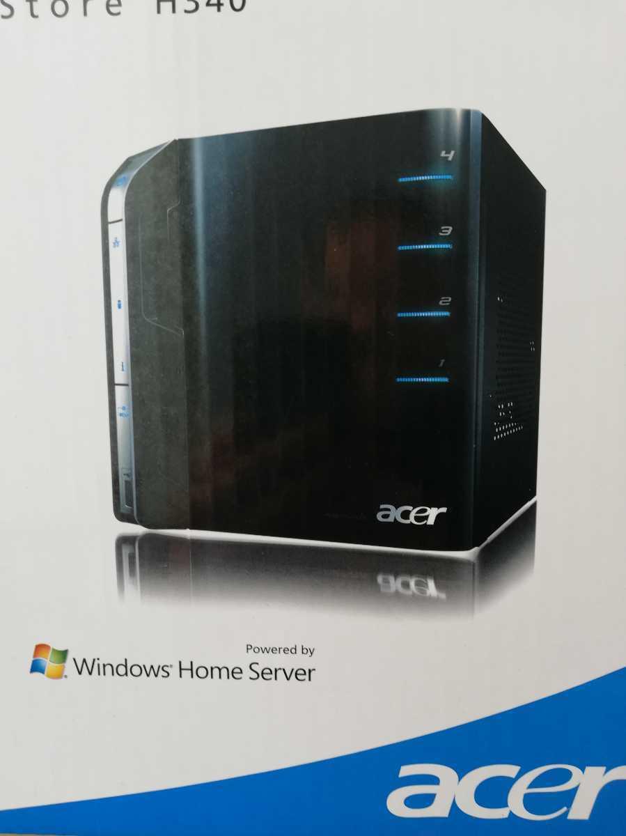 【新品】Windows Home Server acer Aspire easyStore H340 サーバー 未開封品