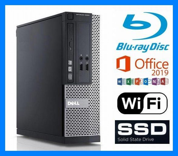 究極◆i7-4790(4.0G×8)◆新品SSD 1TB◆新品HDD 2TB◆ブルーレイ 再生/記録◆16GBメモリ◆USB3.0◆Wi-Fi(無線LAN)◆Win10◆MS Office2019◆