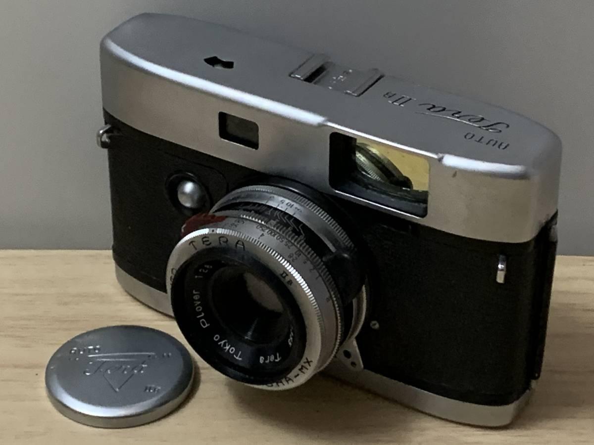 激レア 寺岡精工所 Auto Terra ⅡL オートテラ フィルムカメラ コンパクトカメラAuto Terra Plover 1:2.8 f=4.5cm◆5513