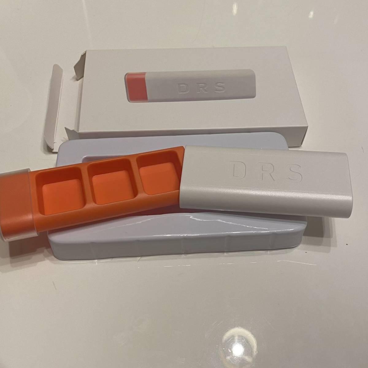 未使用品!DRS 1DAYポータブルサプリケース 1日3回 仕切り ピルケース 錠剤入れ 携帯薬ケース ポータブルピルケース 薬入れ サプリ入れ_画像2