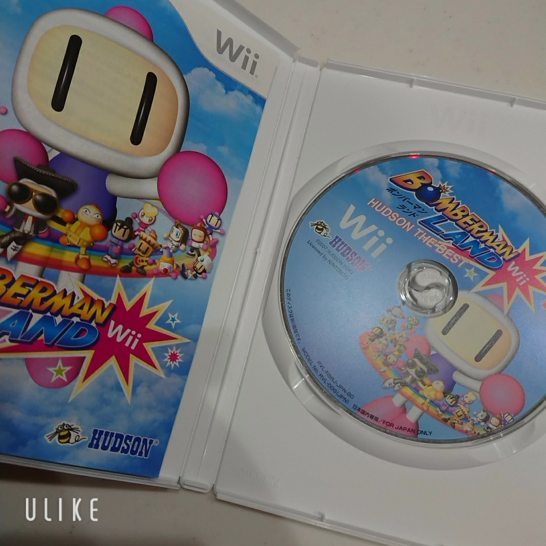 Wii ソフト ボンバーマンランド BOMBARMAN LAND Wii