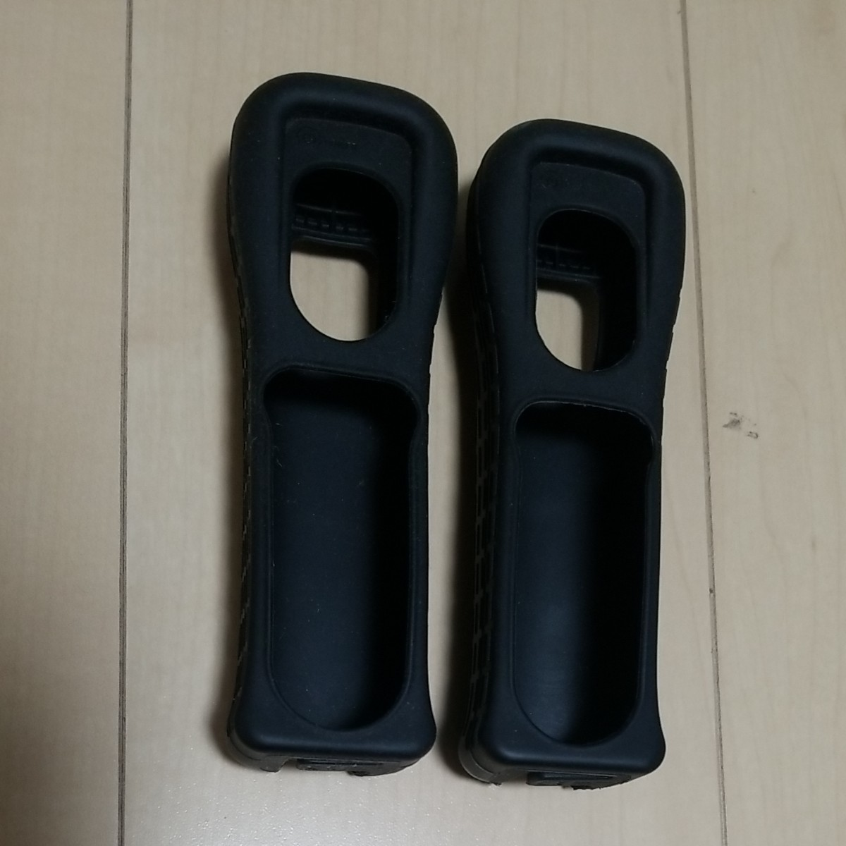 Wiiリモコンジャケット シリコンカバー 2個 黒 任天堂