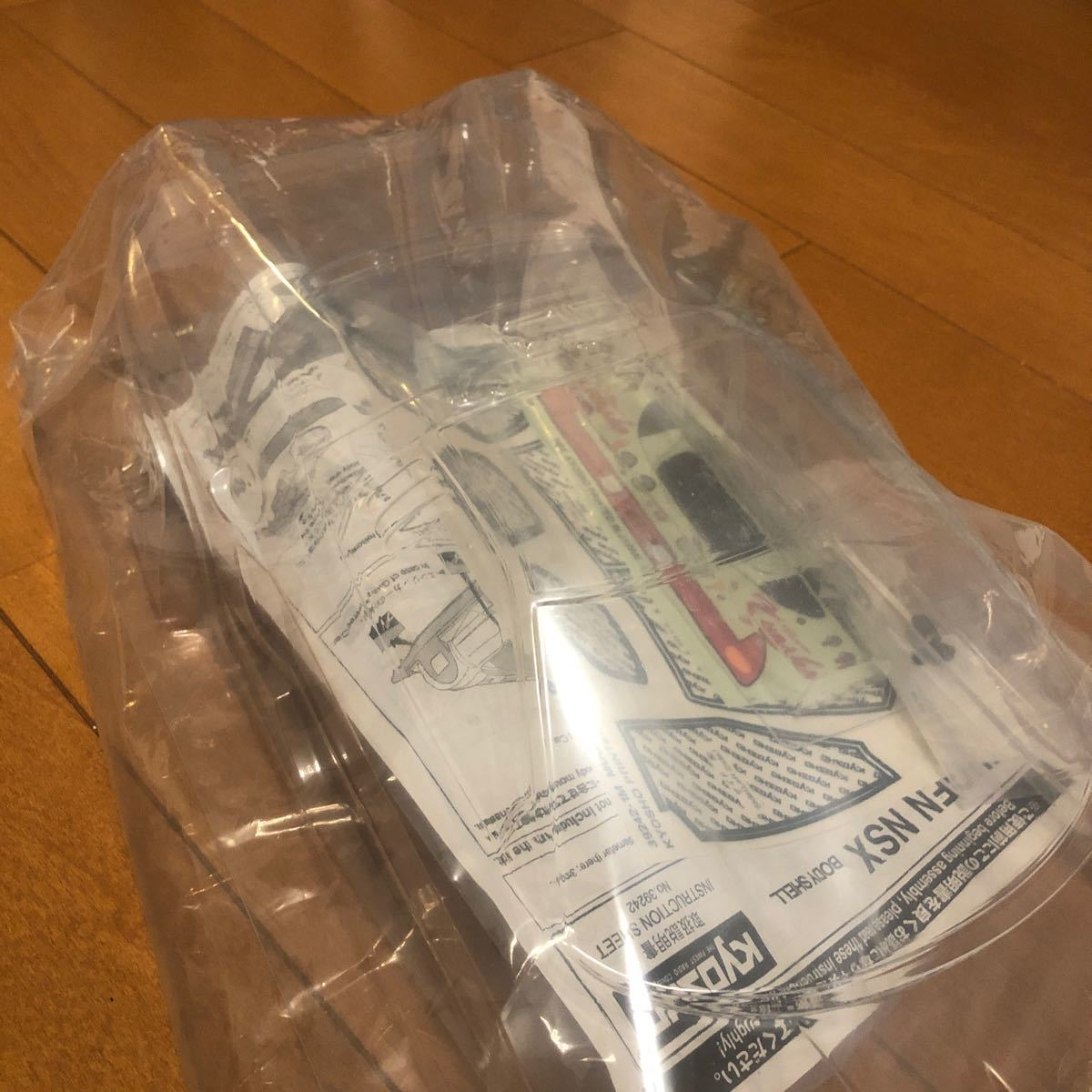 ラジコンボディ 京商 NSX2002 ピュアテンサイズ