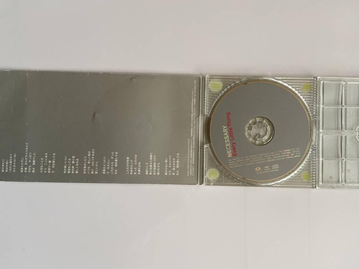 【中古品】 NECESSARY Every Little Thing  シングル CD 【送料無料】_画像2