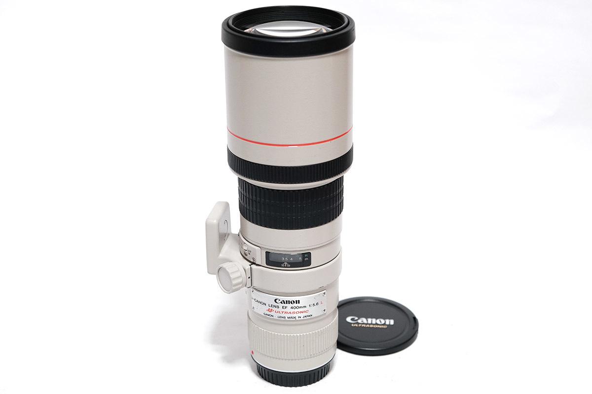 1円~ ★実用良品★ CANON キヤノン LENS EF 400mm F5.6 L USM 単焦点超望遠レンズ 軽い!