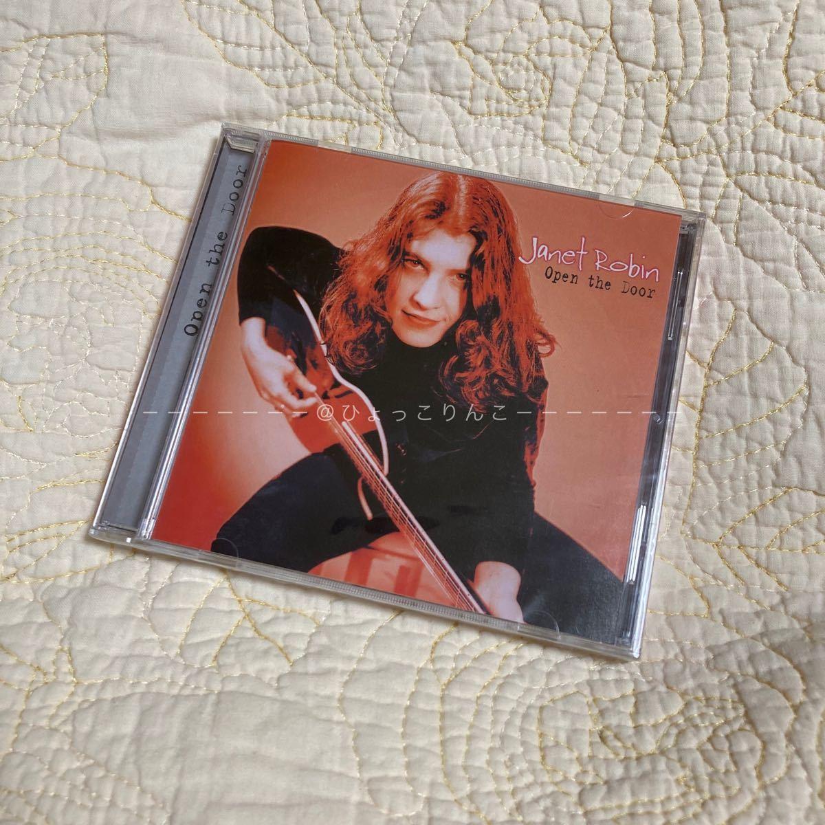 CD Janet Robin/Open the Door
