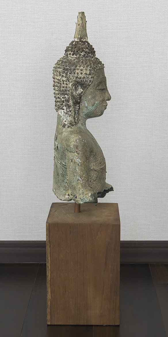 タイ 泰国 16-17世紀 青銅佛 仏像_画像7