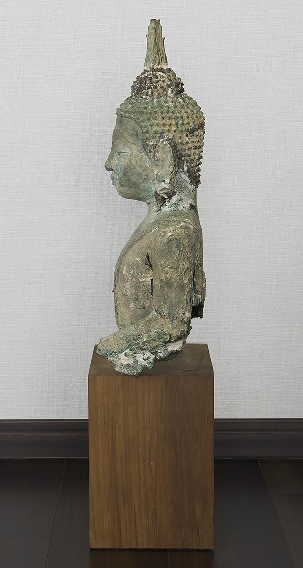 タイ 泰国 16-17世紀 青銅佛 仏像_画像4