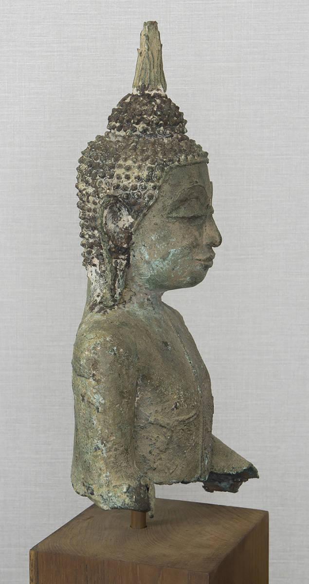 タイ 泰国 16-17世紀 青銅佛 仏像_画像8