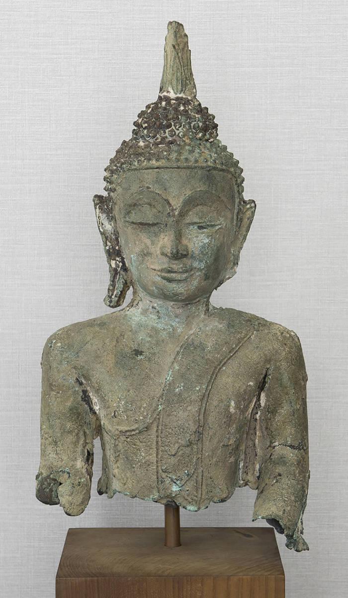 タイ 泰国 16-17世紀 青銅佛 仏像_画像2