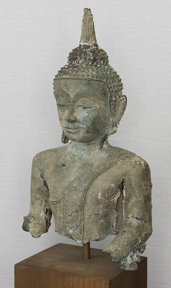 タイ 泰国 16-17世紀 青銅佛 仏像_画像3
