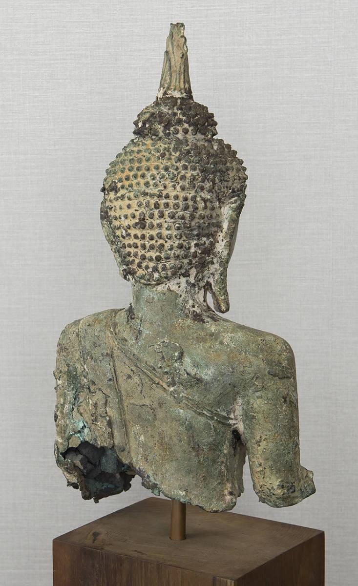 タイ 泰国 16-17世紀 青銅佛 仏像_画像6