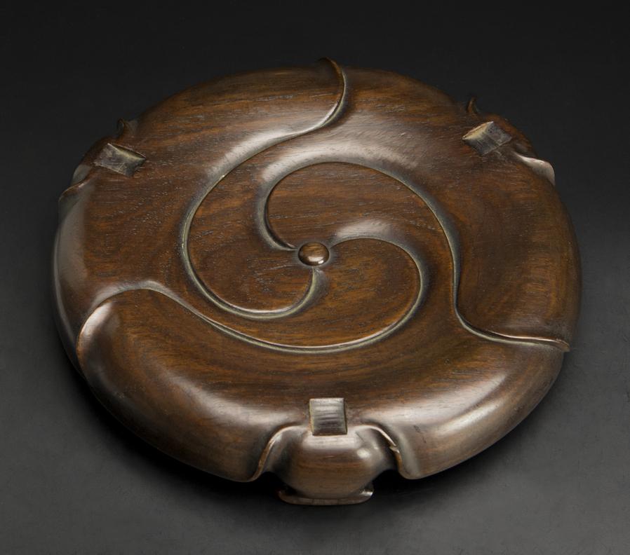 清 銅饕餮紋大炉 大明宣徳年制款 中国 古美術_画像10