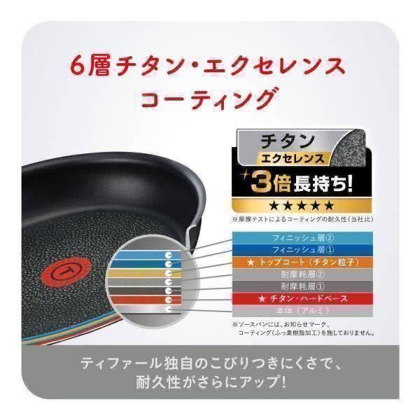 新品 T-fal IHステンレス フライパン 26cm インジニオ・ネオ ティファール