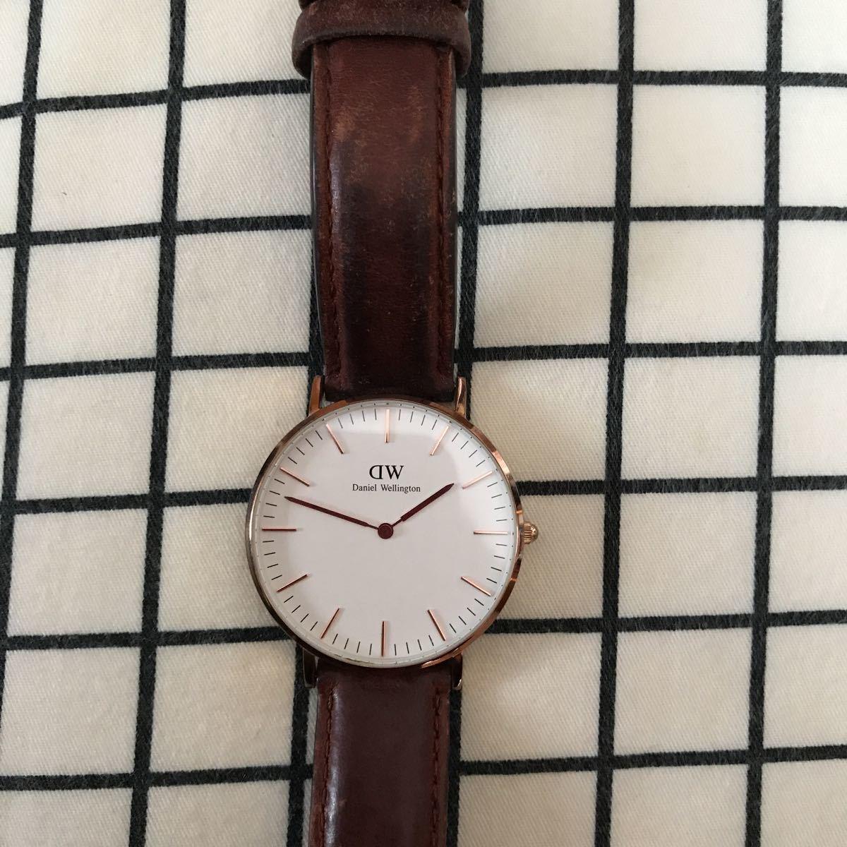 ダニエルウェリントン腕時計 ★電池交換して下さいdanielwellington_画像2