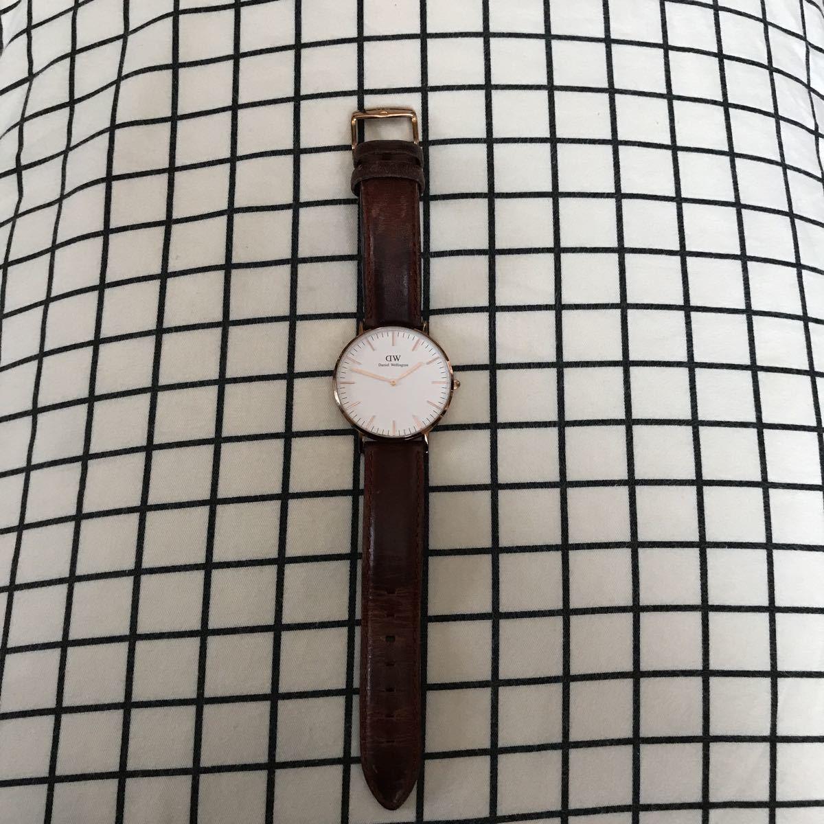 ダニエルウェリントン腕時計 ★電池交換して下さいdanielwellington_画像1