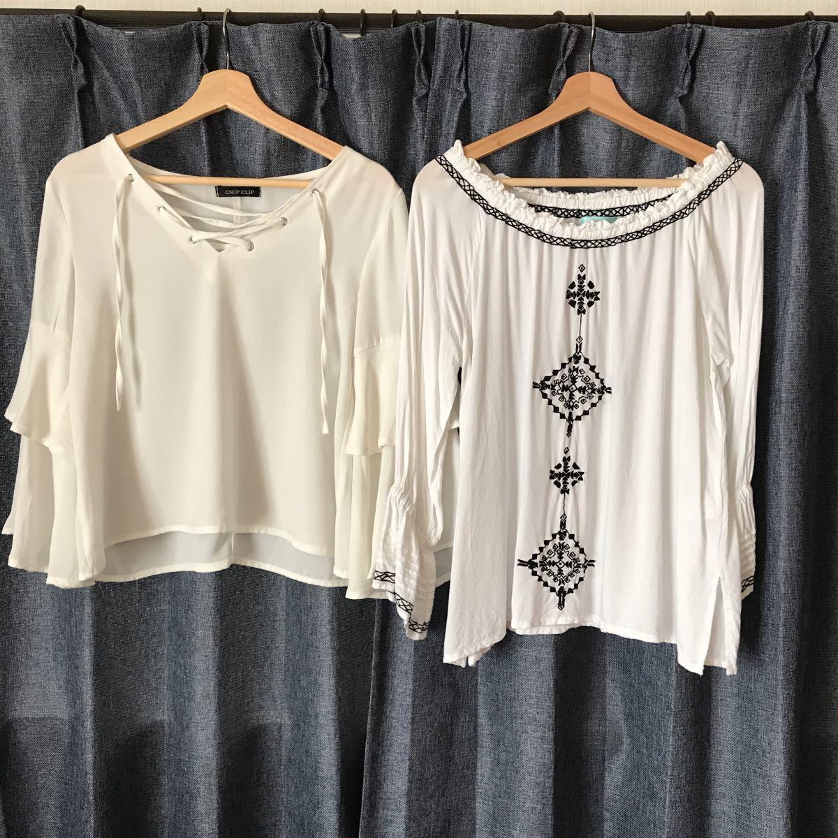 ラレイア含むシャツ2枚セット HAWAII_画像1