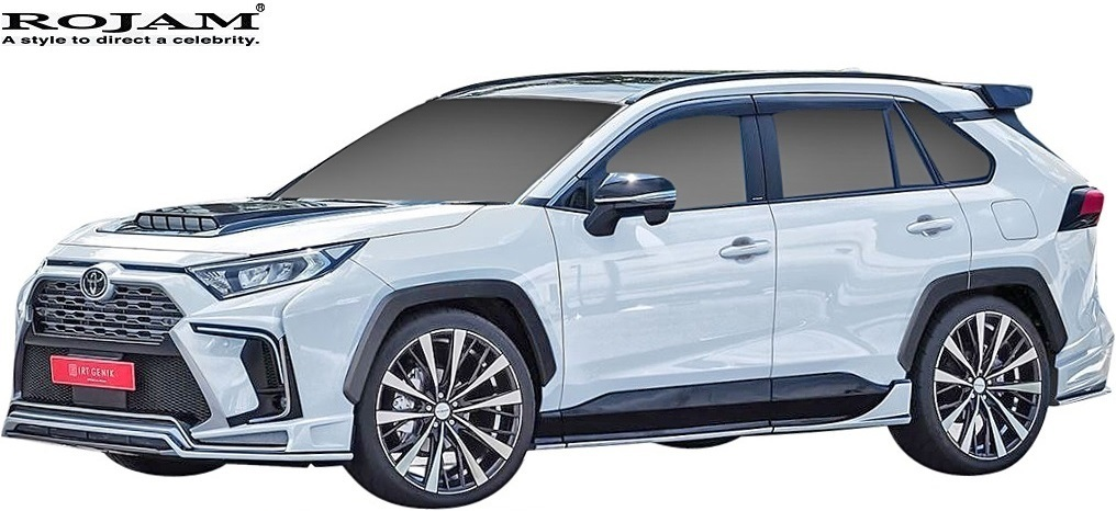 【M's】トヨタ 50系 RAV4 X G G-Z アドベンチャー (2019/4-) ROJAM リヤウイング // FRP 未塗装 ロジャム エアロパーツ 外装 20-rw-ra50_画像4