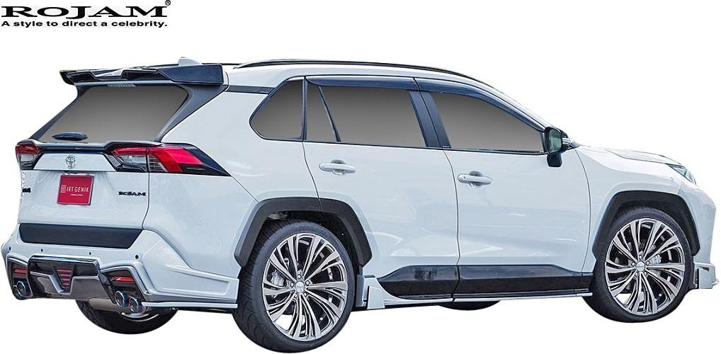 【M's】トヨタ 50系 RAV4 X G G-Z アドベンチャー (2019/4-) ROJAM リヤウイング // FRP 未塗装 ロジャム エアロパーツ 外装 20-rw-ra50_画像2