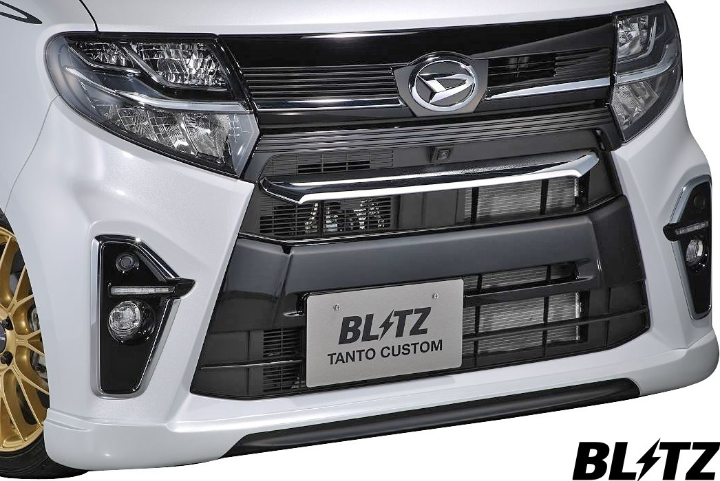 【M's】ダイハツ タントカスタム LA650S/LA660S (2019/07-) BLITZ AERO SPEED R-concept フロントリップスポイラー//ブリッツ 60353_画像1