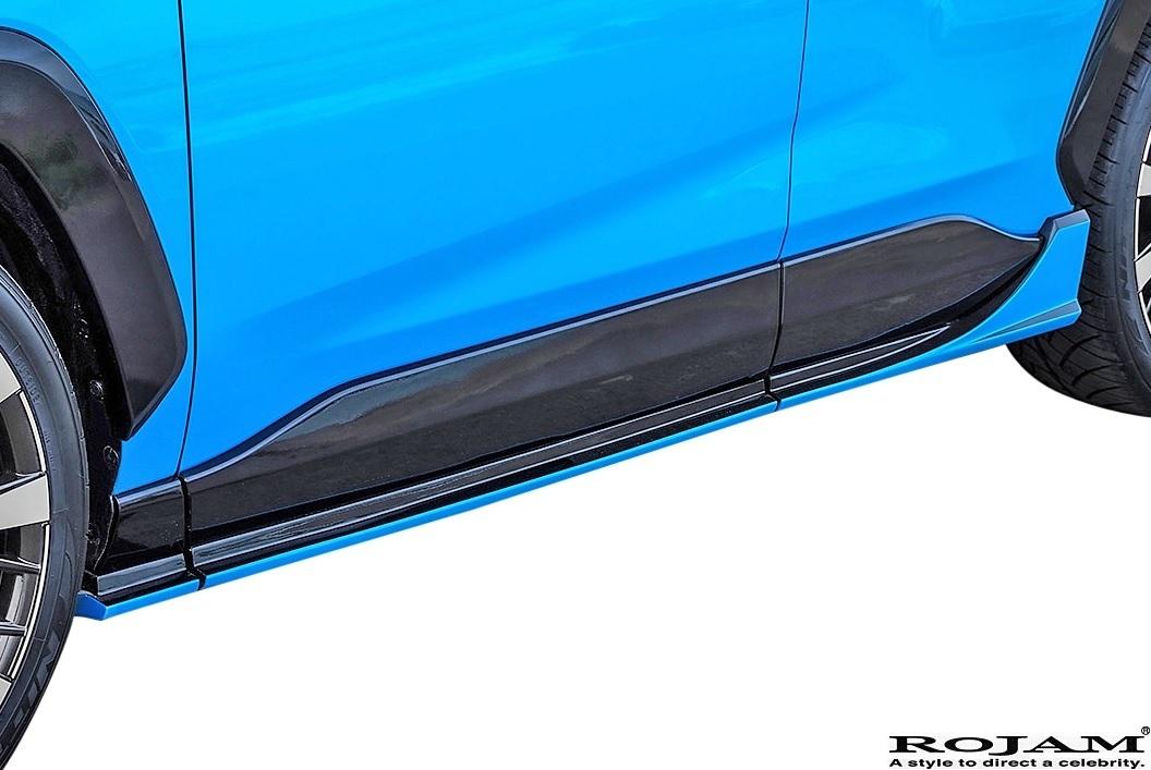【M's】TOYOTA 50系 RAV4 アドベンチャー用 (2019/4-) ROJAM エアロキット LED.ver 3点 // FRP ロジャム フルエアロ セット カスタム_画像3