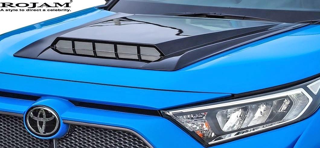 【M's】トヨタ 50系 RAV4 X/G/G-Z/Adventure (2019/4-) ROJAM ボンネットフードダクト // FRP ロジャム エアロ パーツ 20-bhd-ra50_画像1