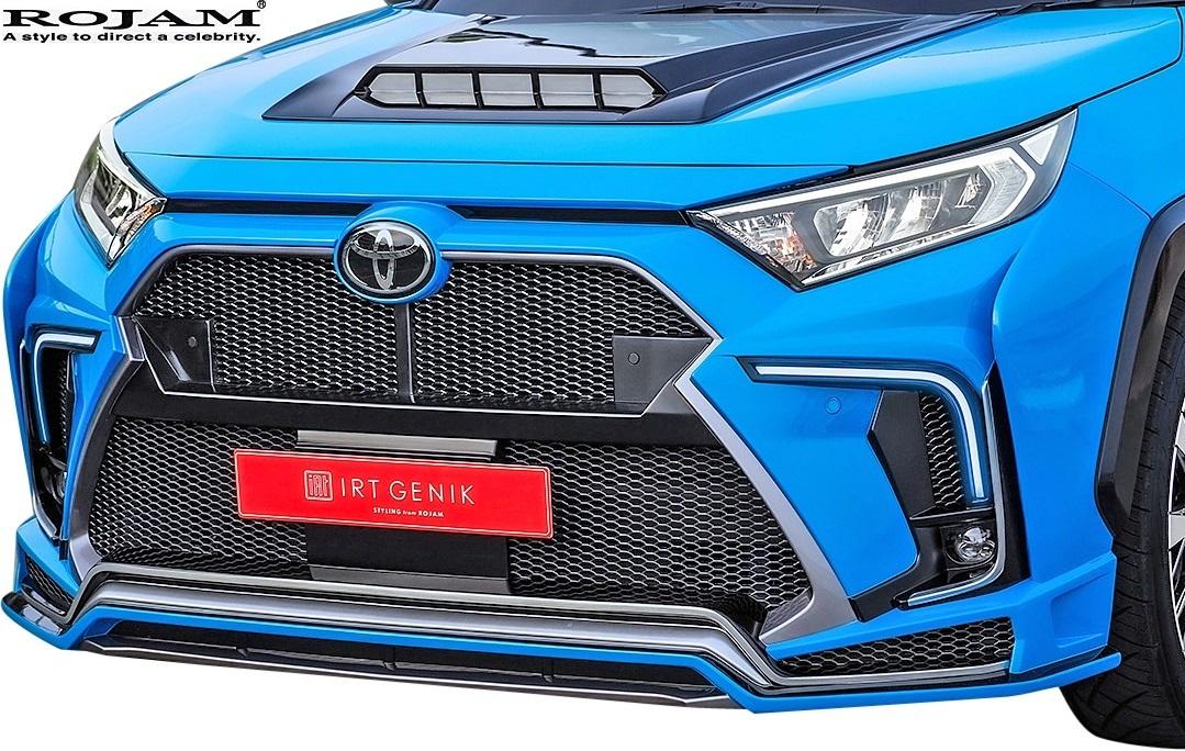 【M's】50系 RAV4 X/G/G-Z/Adventure (2019/4-) ROJAM サイドフラップ 左右 // FRP ロジャム エアロ パーツ カスタム 外装 20-sf-ra50_画像4