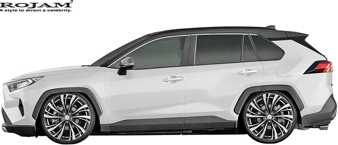 【M's】トヨタ 50系 RAV4 X G G-Z アドベンチャー (2019/4-) ROJAM リヤウイング // FRP 未塗装 ロジャム エアロパーツ 外装 20-rw-ra50_画像8
