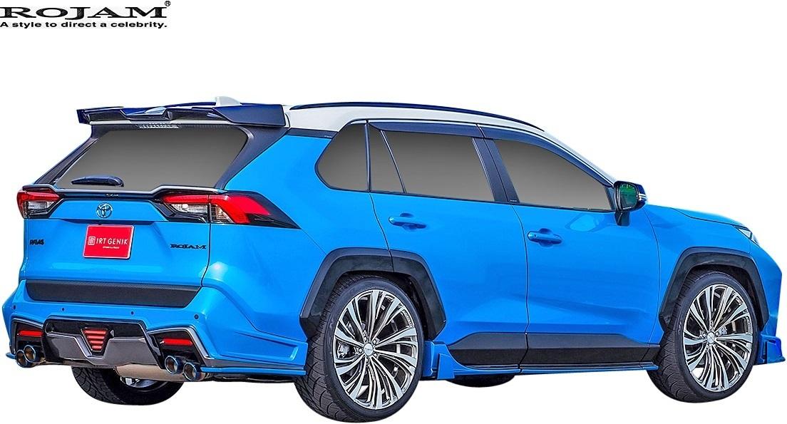 【M's】トヨタ 50系 RAV4 X/G/G-Z/Adventure (2019/4-) ROJAM ボンネットフードダクト // FRP ロジャム エアロ パーツ 20-bhd-ra50_画像5