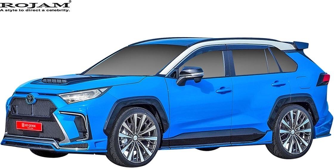 【M's】トヨタ 50系 RAV4 X/G/G-Z/Adventure (2019/4-) ROJAM ボンネットフードダクト // FRP ロジャム エアロ パーツ 20-bhd-ra50_画像4