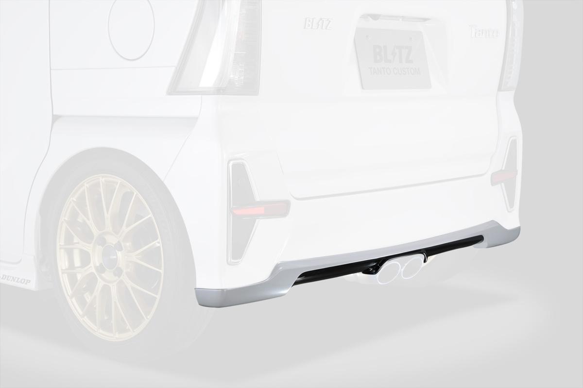 【M's】タントカスタム LA650S/LA660S (2019/07-) BLITZ AERO SPEED R-concept リアディフューザー//ウレタン製 ブリッツ エアロ 60354_画像2