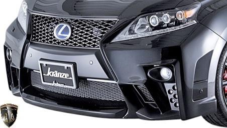 【M's】レクサス 10系 RX 後期 RX450h RX350 RX270 (2012.4-2015.10) AIMGAIN 純VIP GT フロントバンパー // FRP エイムゲイン エアロ_画像1