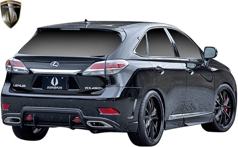 【M's】レクサス 10系 RX 後期 RX450h RX350 RX270 (2012.4-2015.10) AIMGAIN 純VIP GT フロントバンパー // FRP エイムゲイン エアロ_画像9