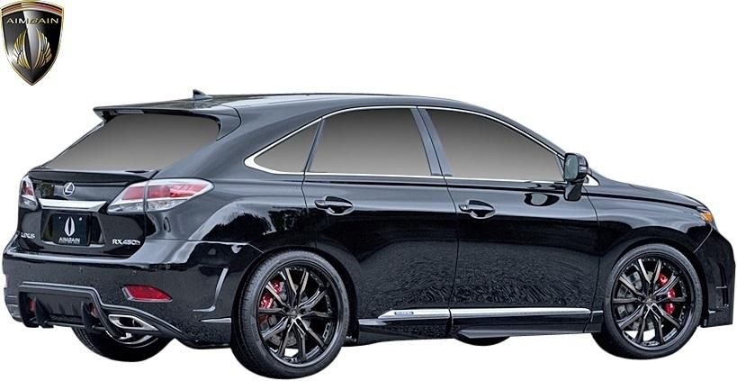 【M's】LEXUS 10系 RX 後期 RX450h RX350 RX270 (2012.4-2015.10) AIMGAIN 純VIP GT リヤゲートスポイラー // FRP エイムゲイン エアロ_画像5
